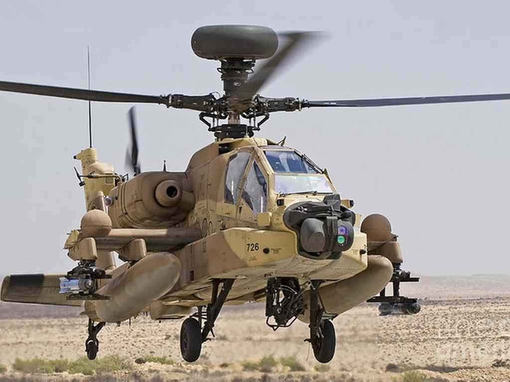 AH-64I Saraf 'IDF Apache'